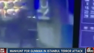 Manhunt for terrorism suspect - Video