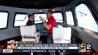 On the Go at the Baltimore Water Taxi - Video