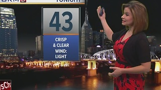 Bree's Evening Forecast: Tuesday, Nov. 15, 2016 - Video