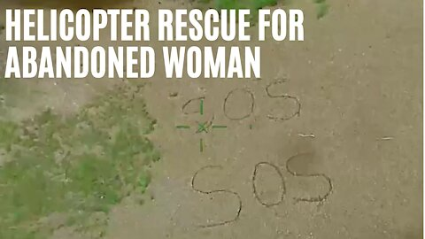 Ontario Woman Draws SOS In Sand After Her Friend Abandons Her In The Woods