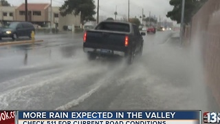 UPDATE: Heavy rain hits Las Vegas valley - Video
