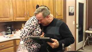 Touching Gift Brings Father to Tears - Video