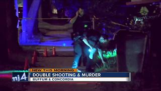 Double shooting & murder early Sunday morning - Video