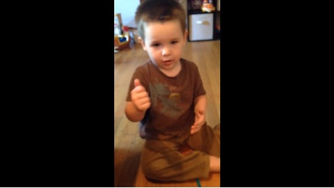Toddler With Speech Delays Learns First Sign