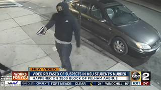 Police searching for suspects involved in death of Morgan State student - Video