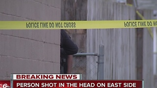 Person shot in head on Indy's east side - Video