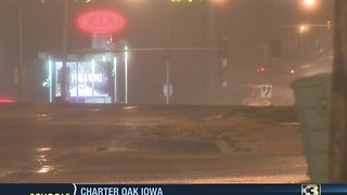 Crews work to prevent re-freeze overnight - Video