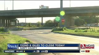 132nd and Giles to close - Video