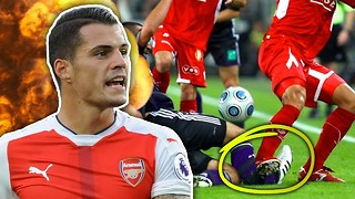 Dirtiest Footballers XI Part 2! | Xhaka, Witsel & Vidic - Video