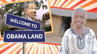 Why this African town worships the POTUS - Video