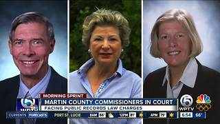 Martin County Commissioners set for court hearing today - Video