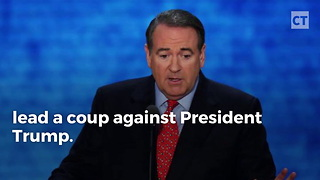 Huckabee Said FBI Coup Intended Against Trump - Video