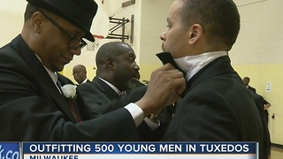 Event gives young black men chance to dress up, dine out