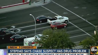 ABC15 talks to suspect's stepdad after multi-city chase in U-Haul - Video