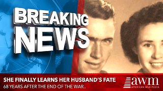 68 Years After Her Husband Vanished, She Finally Gets The Call She's Been Waiting For - Video