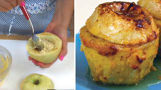 Baked stuffed apples - Video