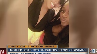 Mother mourns 2 daughters killed in North Las Vegas crash - Video