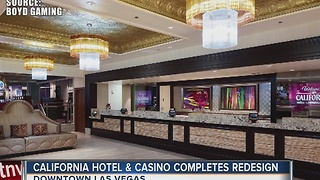 California hotel-casino completes sweeping redesign - Video
