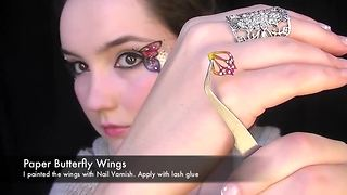Butterfly makeup tutorial