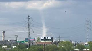 Funnel Cloud Swirls Near San Antonio Golf Course - Video