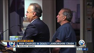 Bond set at $450K for Lamborghini driver charged in 82-year-old Uber driver's death - Video