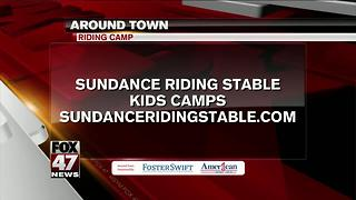 Around Town 6/28/17: Sundance Riding Stable - Video