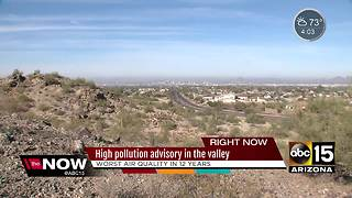 Air quality at all-time low in Phoenix - Video