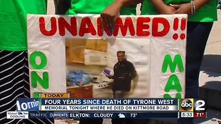 Four years since Tyrone West's death