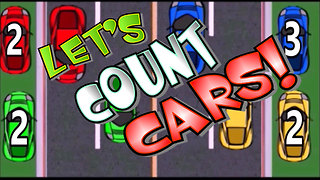 Let's Count Cars Game with the Box of Adventure for Kids - Video