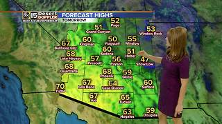 Sunny and dry start to the week in the Valley - Video