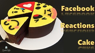 Facebook reactions cake: How to make from Creative Cakes by Sharon - Video