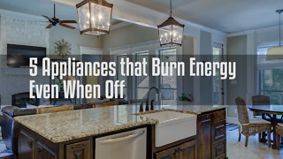 5 Appliances that Burn Energy Even When Off - Video