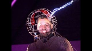 David Blaine Electric Shock - Video