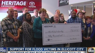 Dealership helps those who lost cars in Ellicott City flood - Video