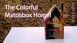 The Colorful Matchbox Home!  - Video