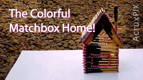 The Colorful Matchbox Home!