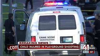 Child shot at playground in KCMO - Video