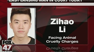 East Lansing man faces animal cruelty charges - Video