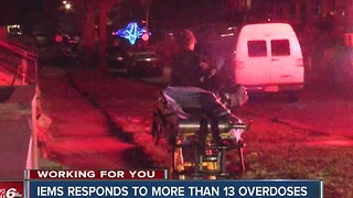 More than 13 overdose calls in 24 hours in Indianapolis - Video