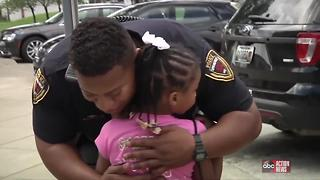 7-year-old on a mission to hug police officers in all 50 states - Video