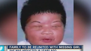 Family to be reunited with missing girl abducted 18 years ago - Video