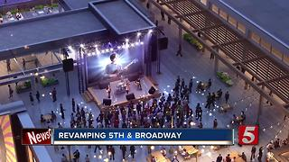 Construction Begins In Nashville On Fifth + Broadway - Video