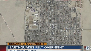 Two earthquakes hit Northern Nevada overnight - Video