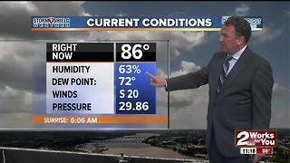 2 Works for You Tuesday Midday Weather Forecast - Video