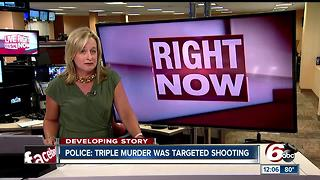 3 men killed in shooting on Indy's north side identified - Video