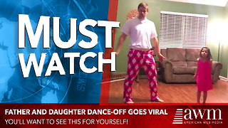 Dad Finally Has The Courage To Get Filmed Dancing, Video Goes Viral Almost Immediately
