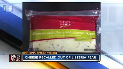 Biery Cheese Co. expands recall of select cheese due to possible Listeria
