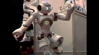 Shanghai Robot Show 2011 - Video