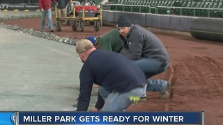 What happens to Miller Park in the winter? - Video