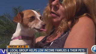 Local group helps low income families & their pets - Video